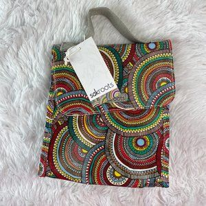 NWT Sakroots Flap Lunch Box in Multi  Mosa…